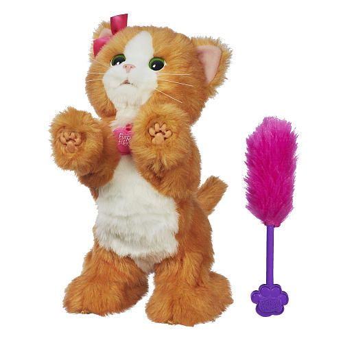 Furreal Friends Daisy Plays With Me Kitty Toy Hasbro Toys R Us Fur Real Friends Cat Toys Toys