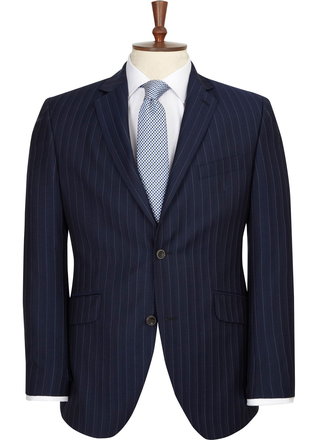 Category List Blue Stripes Striped Jacket Austin Reed