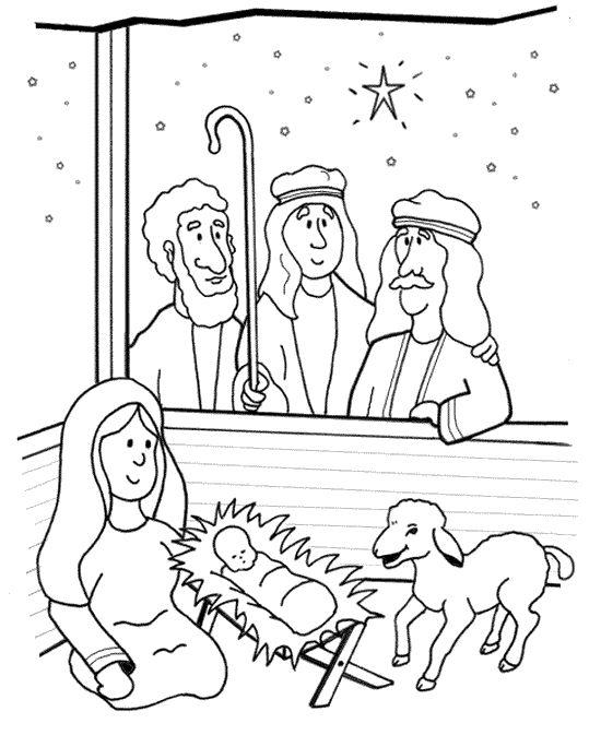 de herders kerstmis kleurplaten kleurplaten kerstmis
