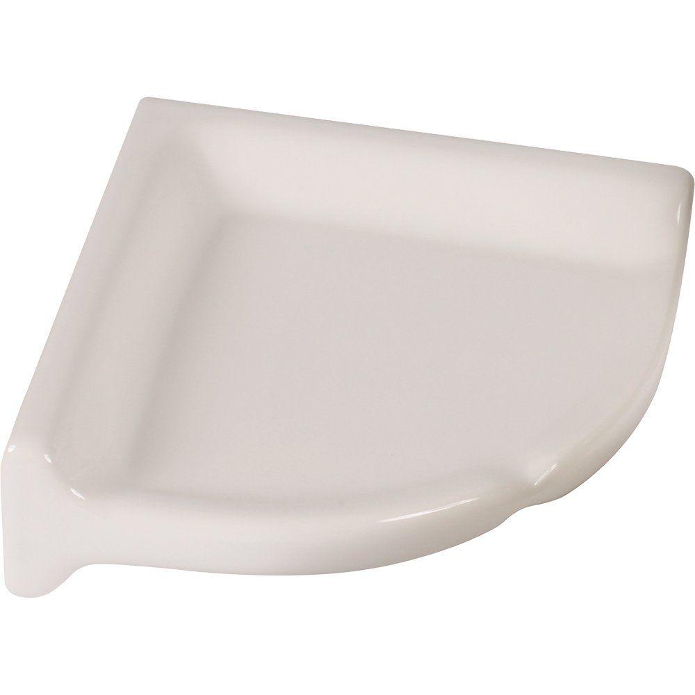 Amazon Com Apple Creek Ceramic Shower Corner Shelf 7 Inch 7