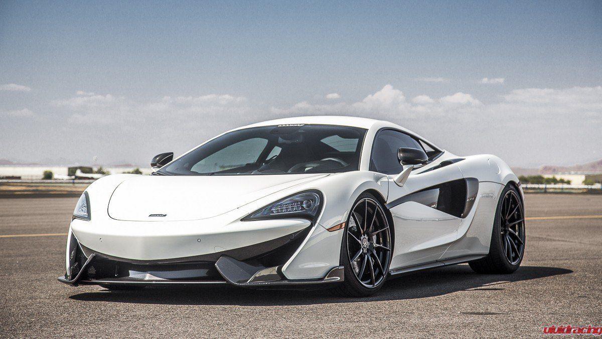 Car Enthusiast S Dream Car Customized White Mclaren 570s Dream