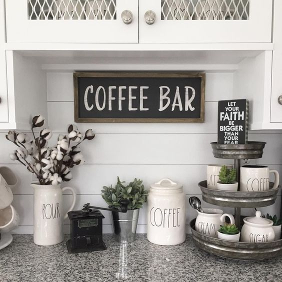 Coffee Bar Ideas - How To Make A Coffee Bar At Home