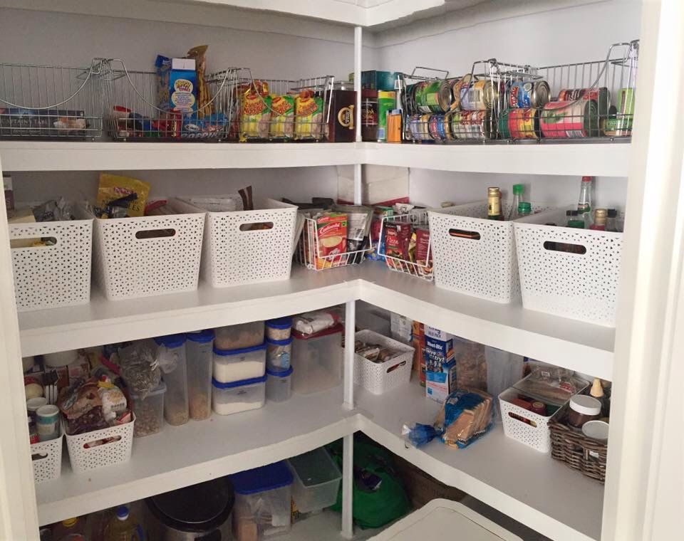 Pantry Organisation With Kmart Wire And