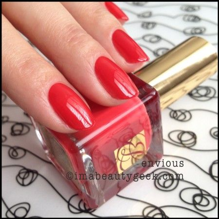 Estee Lauder polish Pure Color Envy Envious