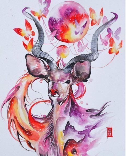 Dreamlike Watercolors by Jongkie - Neatorama