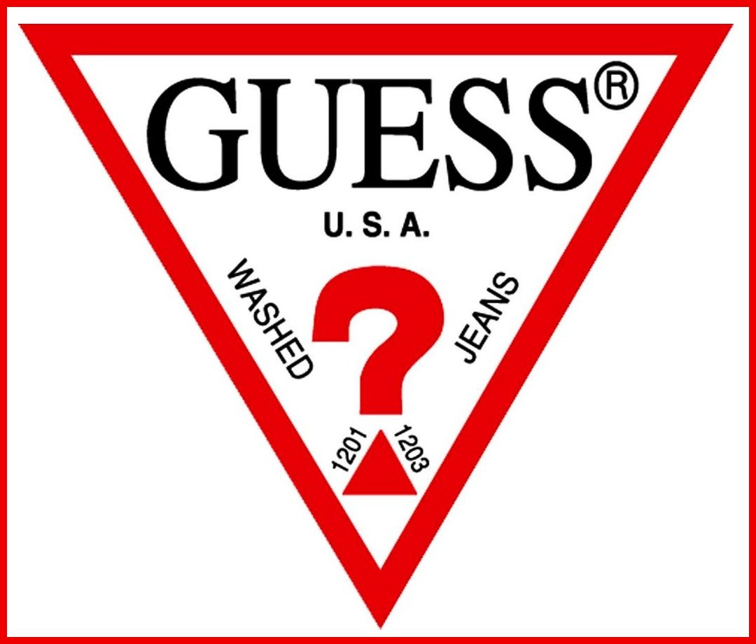 guess jeans signature logo guess a brand i love fashion and rh pinterest com 80s clothing and apparel brand logos Popular 80s Clothing Girls