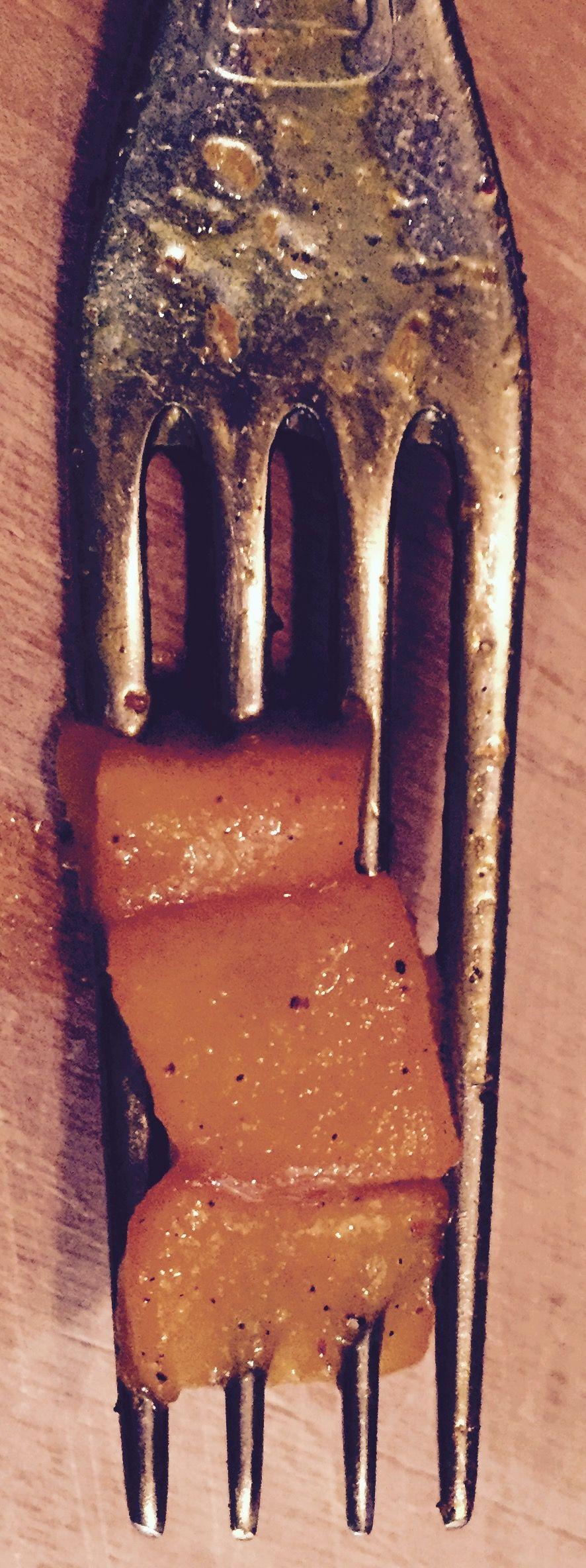 Pear and saffron for dessert