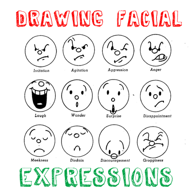 Examples of facial expressions remarkable