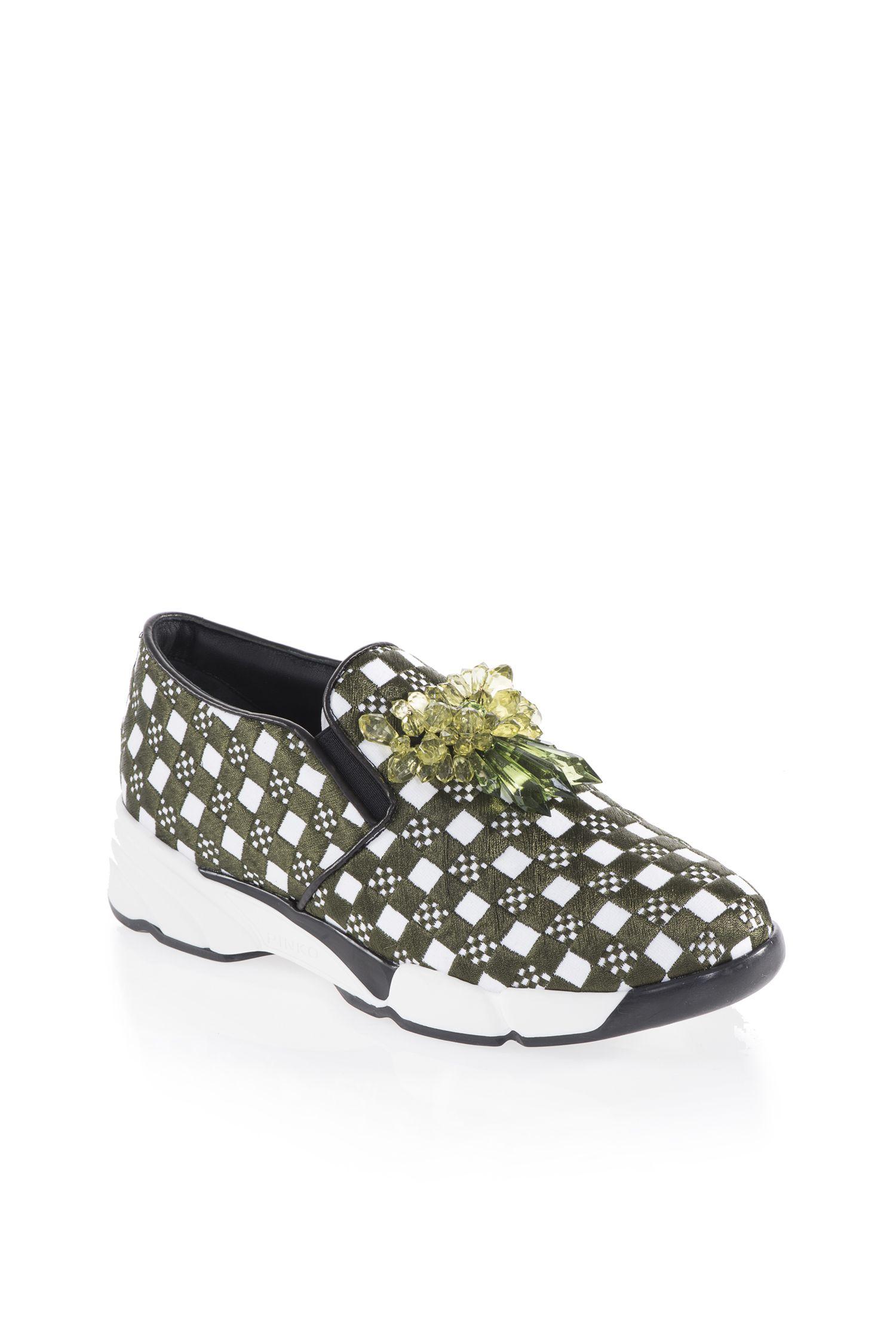 2016 Scarpe Dal Pinko Sneakers Rock Glamour Autunno Inverno qgwBavt a2138660d7c