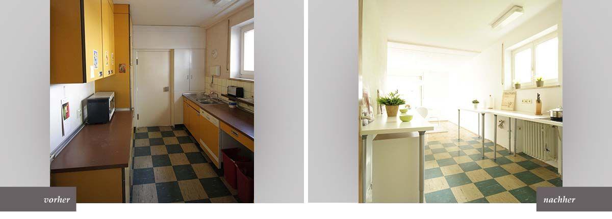 Home Staging Küche Vorher Nachher Home Staging Pinterest - küche vorher nachher
