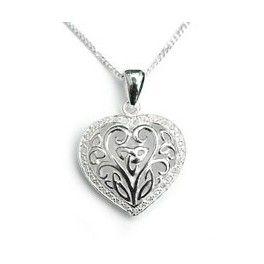(IR190) Ensirakkauden sydän - Kelttikorut