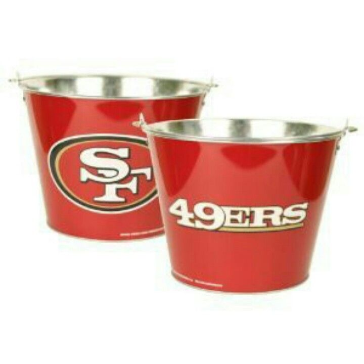 49ers Beer Bucket For Ice Beer Bucket San Francisco