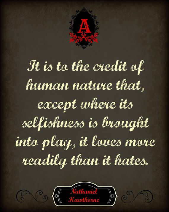 scarlet letter quote digital poster | famous novels, human nature