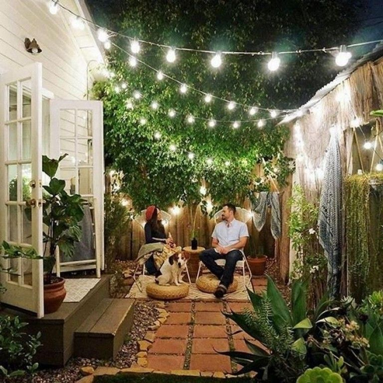 45 Pervect Small Space Gardening Design Ideas Small Courtyard