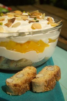 Photo of Rezept: Cantuccini-Pfirsich-Tiramisu