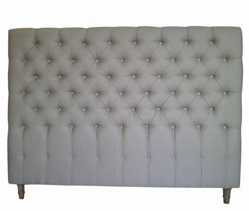 Natural Linen Oned Tuffed Oak King Size Bed Headboard Http Www La
