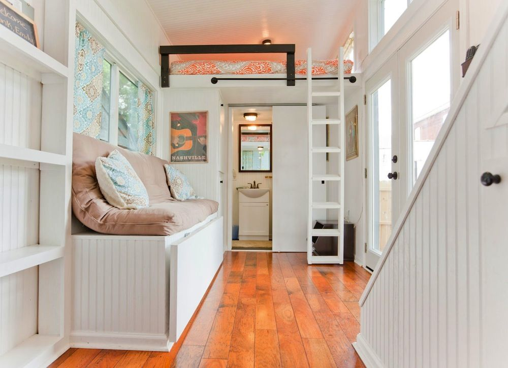 The Tiny House Movement Has Much To Teach Us About Living Simply And With  Minimal. Tiny Homes InteriorMonochromatic ...