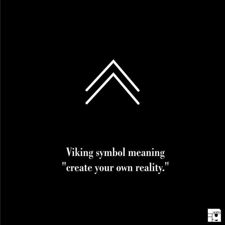 Símbolo Vikingo Significado De Pequeños Símbolos Tatuajes