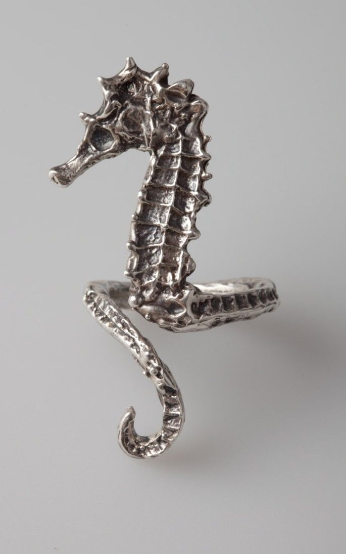 Every time August goes into the ocean she makes sure she has this ring. If trouble arises and she needs a fast get away, she simply touches it, mutters an incantation and it morphs into a one person chariot pulled by seahorse the size of her herself.