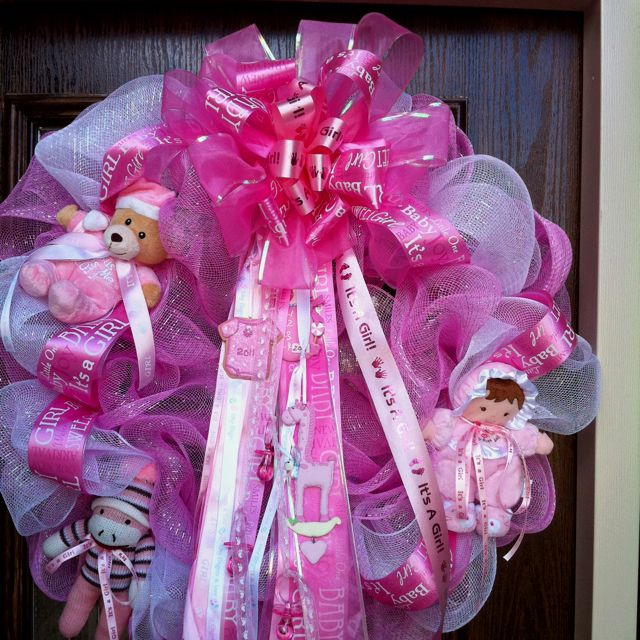 Welcome Home Baby Party Decorations: Baby Girl Shower Or Welcome Home