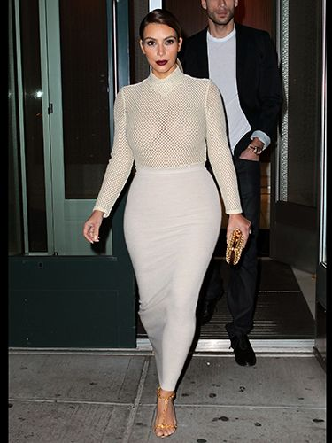 Topic, very Kim kardashian nude under mesh are mistaken