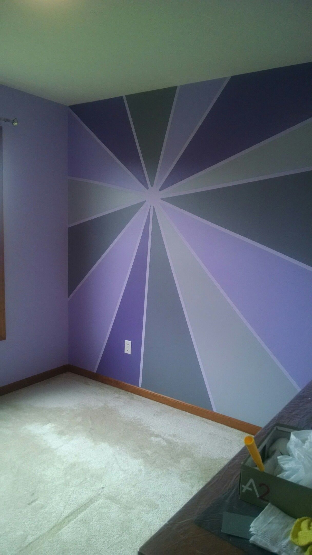Craft Room Bedroom Wall Paint Wall Decor Design Geometric Wall Paint