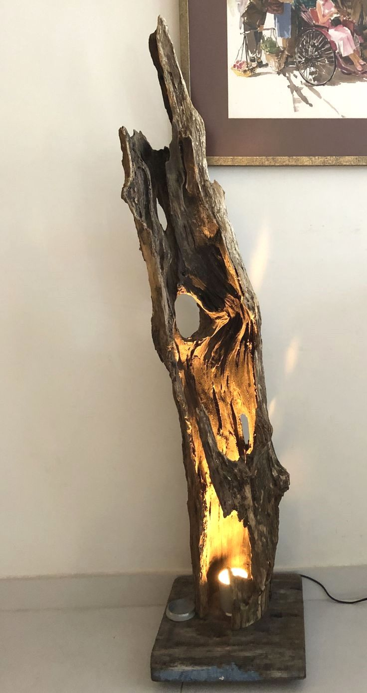 DIY lampe de bois de dérive #bestdriftwood in 2020 (mit