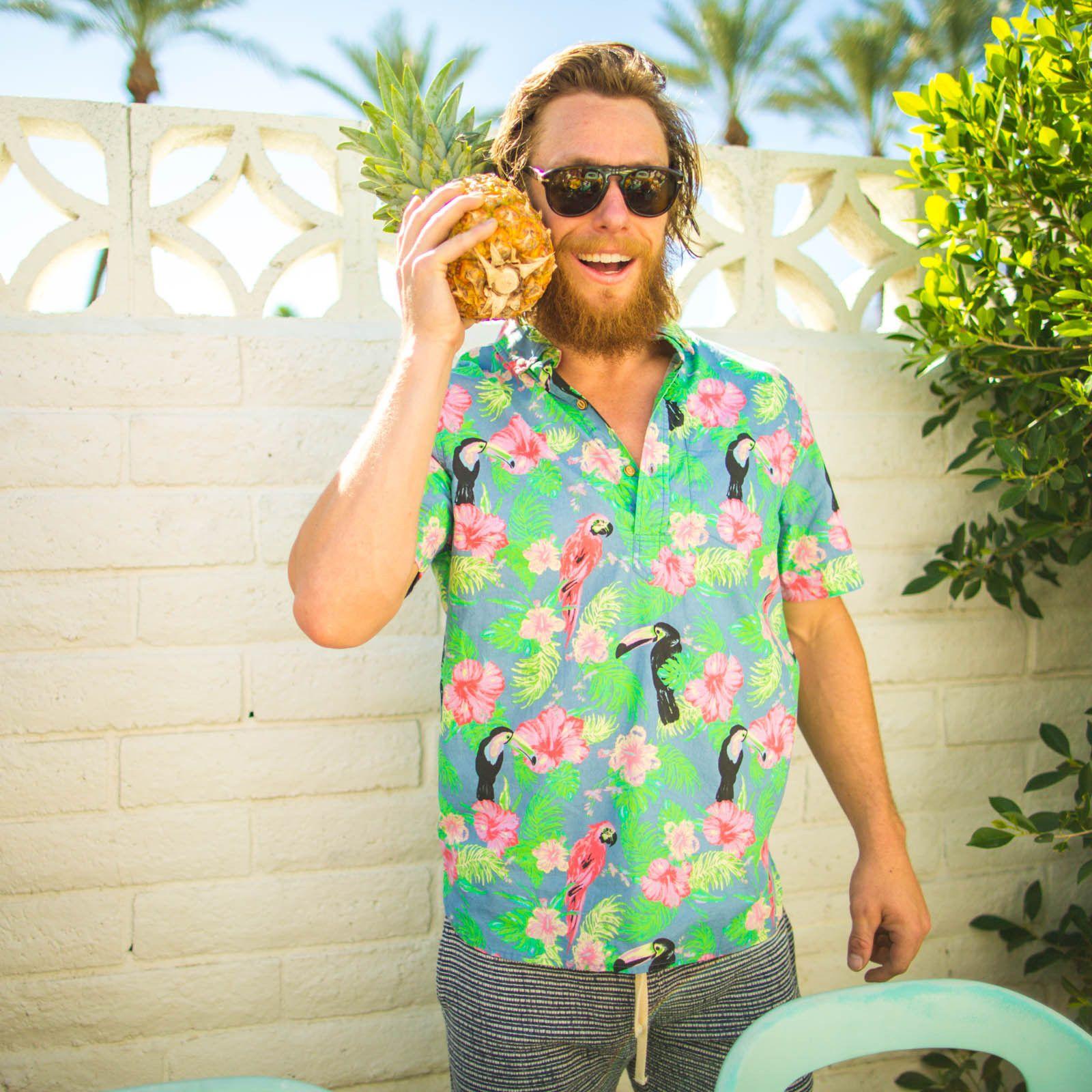 The toucan call me al chubbies men s hawaiian shirt chubbies shorts