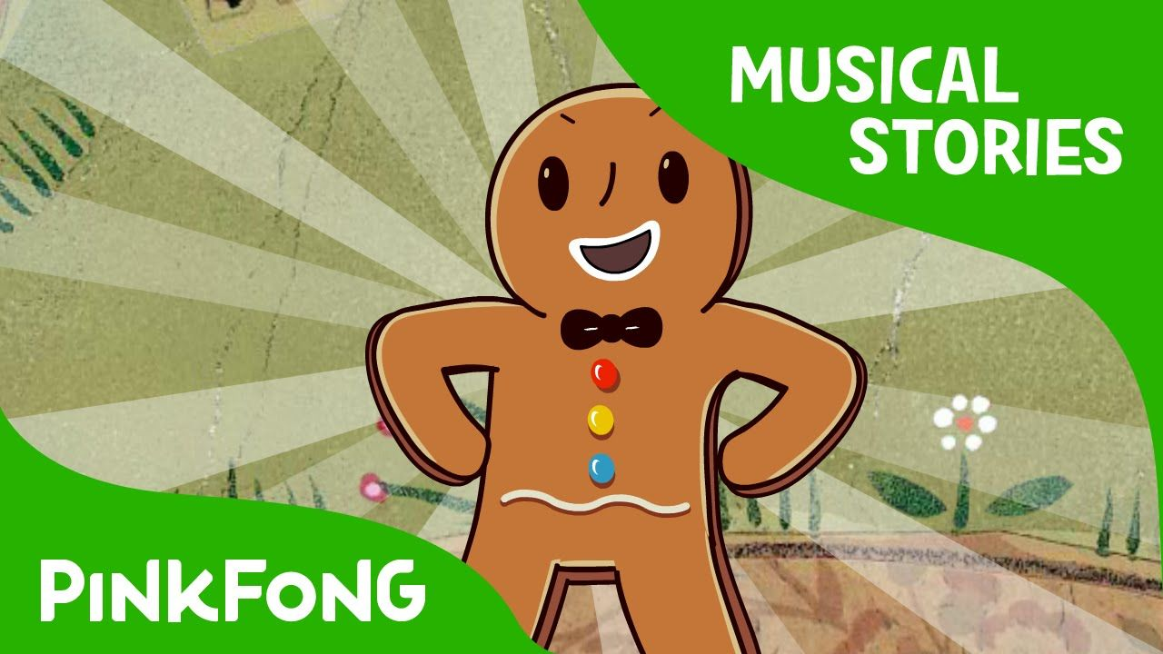 Resultado de imagen de The Gingerbread Man | Fairy Tales | Musical | PINKFONG Story Time for Children