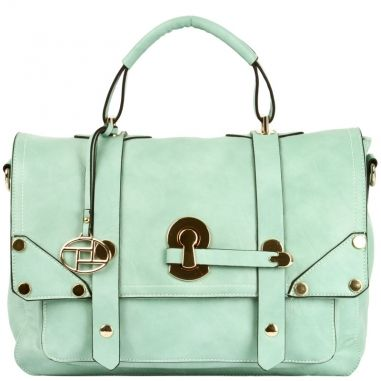 Alessandra Keyhole Satchel in yummy Mint Green. Love!