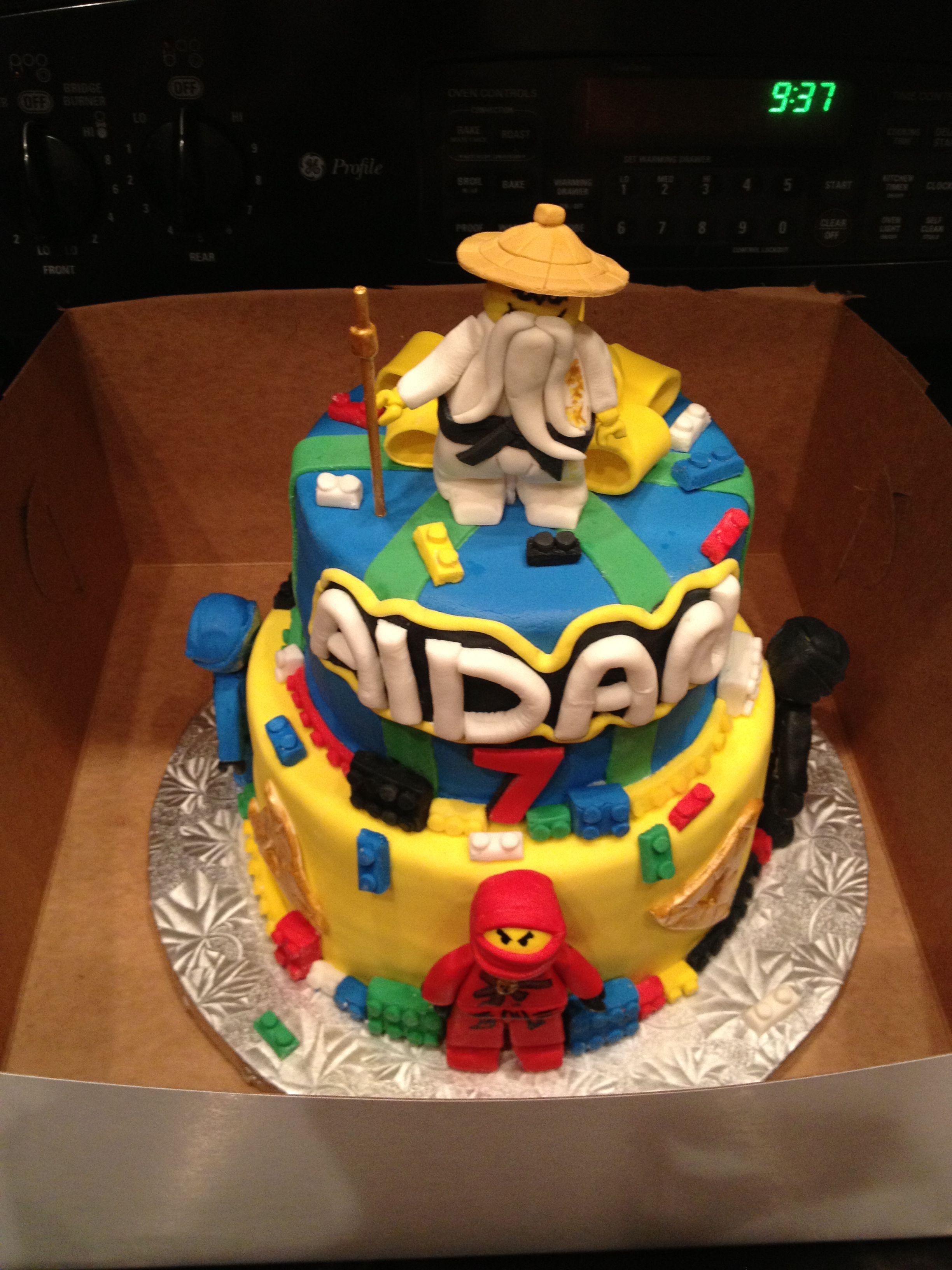 Aidans 7th birthday cake 7th birthday cakes cake