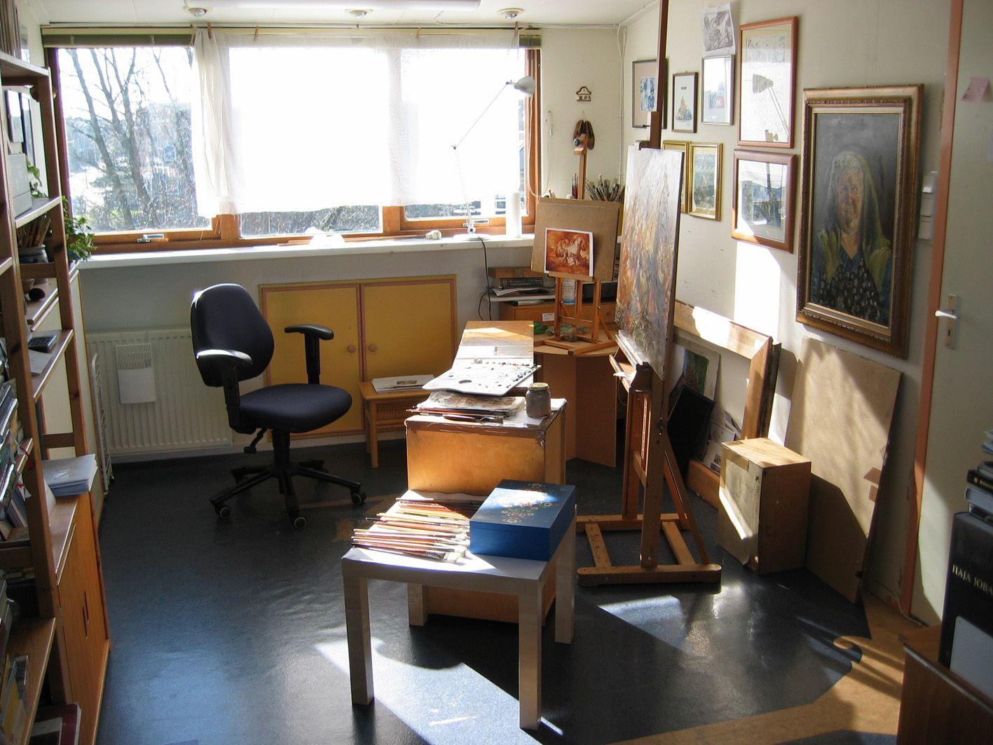 Petar Meseldzija's studio