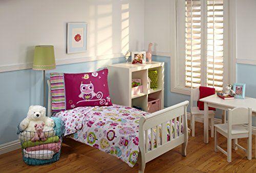 Everything Kids Toddler Bedding Set, Hoot Hoot #deals