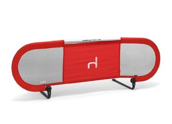 Babyhome Side Bed Rail (Red) in Winter 2012 from RightStart on shop.CatalogSpree.com, my personal digital mall.