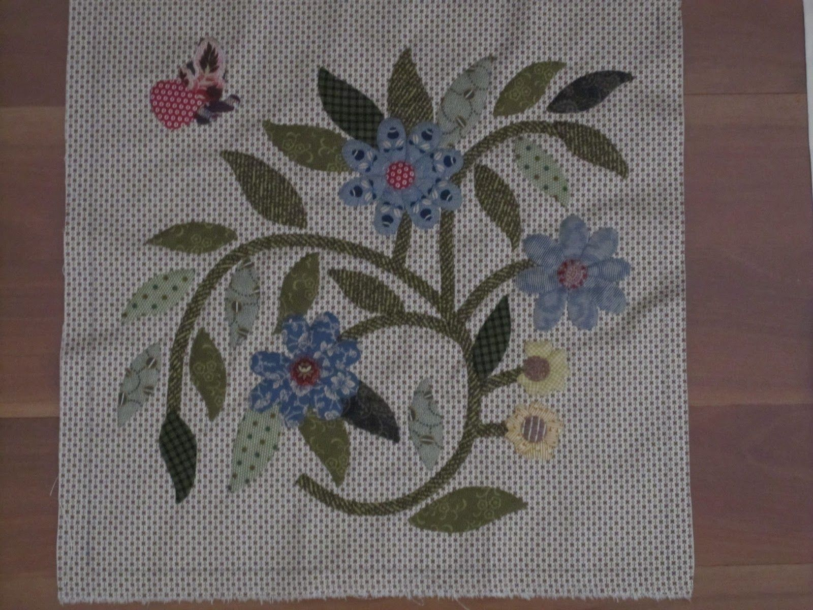 Caswell block by needles sticks and hooks quilts applique