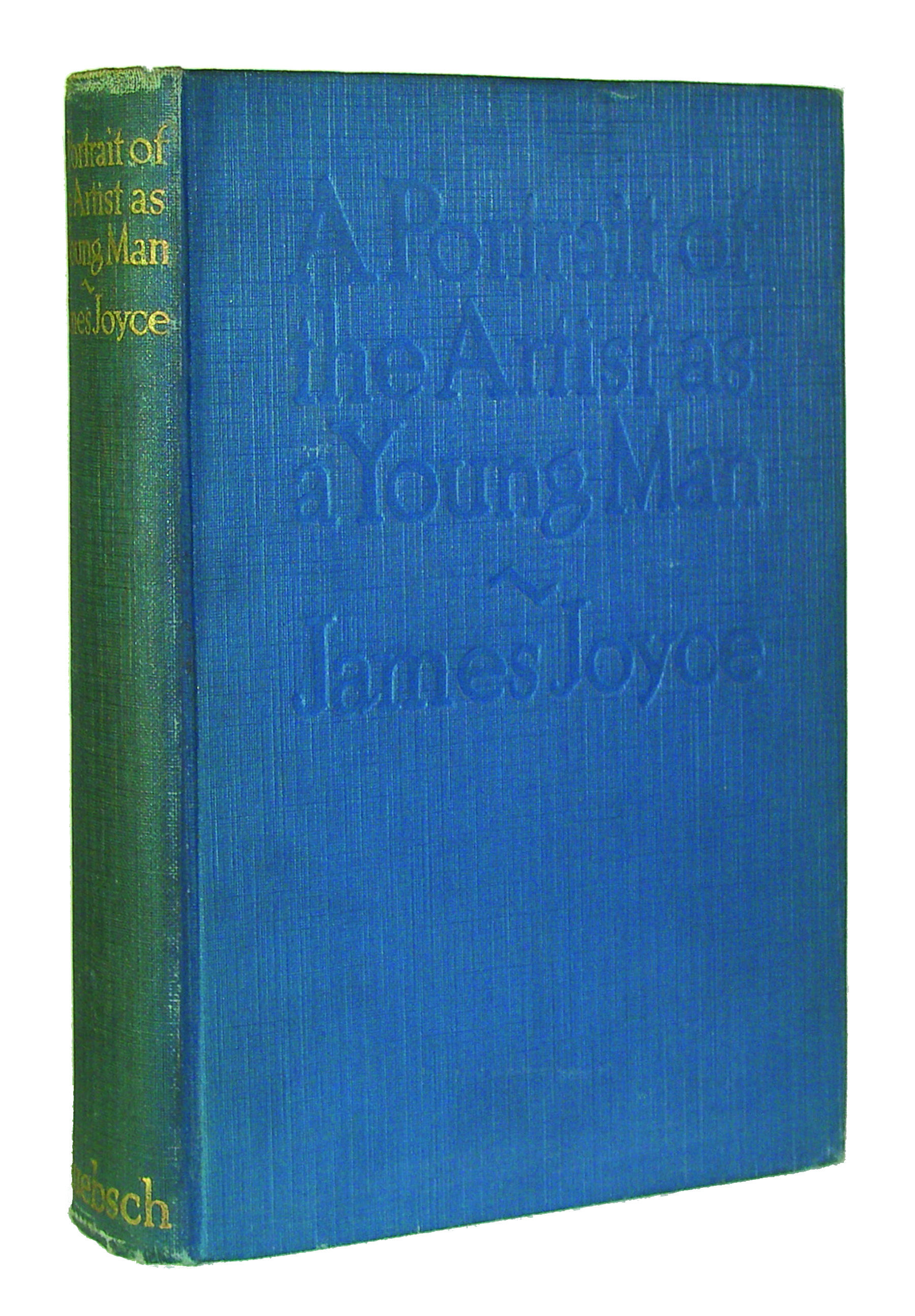 DECEMBER 29 On this day in 1916, James Joyce's Portrait of the Artist as a Young Man is published in New York