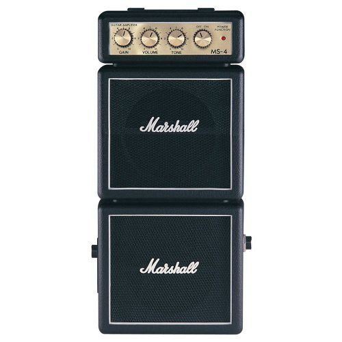 Marshall Ms4 Mini Micro Full Stack Battery Amplifier By Marshall 59 95 For Those Player To Whom A Full Stack Is A Must Marsha Amplifier Mini Micro Marshall