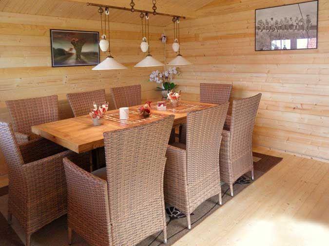 Gartenhaus Möbel gartenhaus in hanglage aufbau einrichtung und gartengestaltung