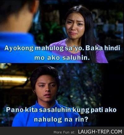 Ayokong Mahulog Sayo Hugot Quotes Tagalog Quotes Sayo