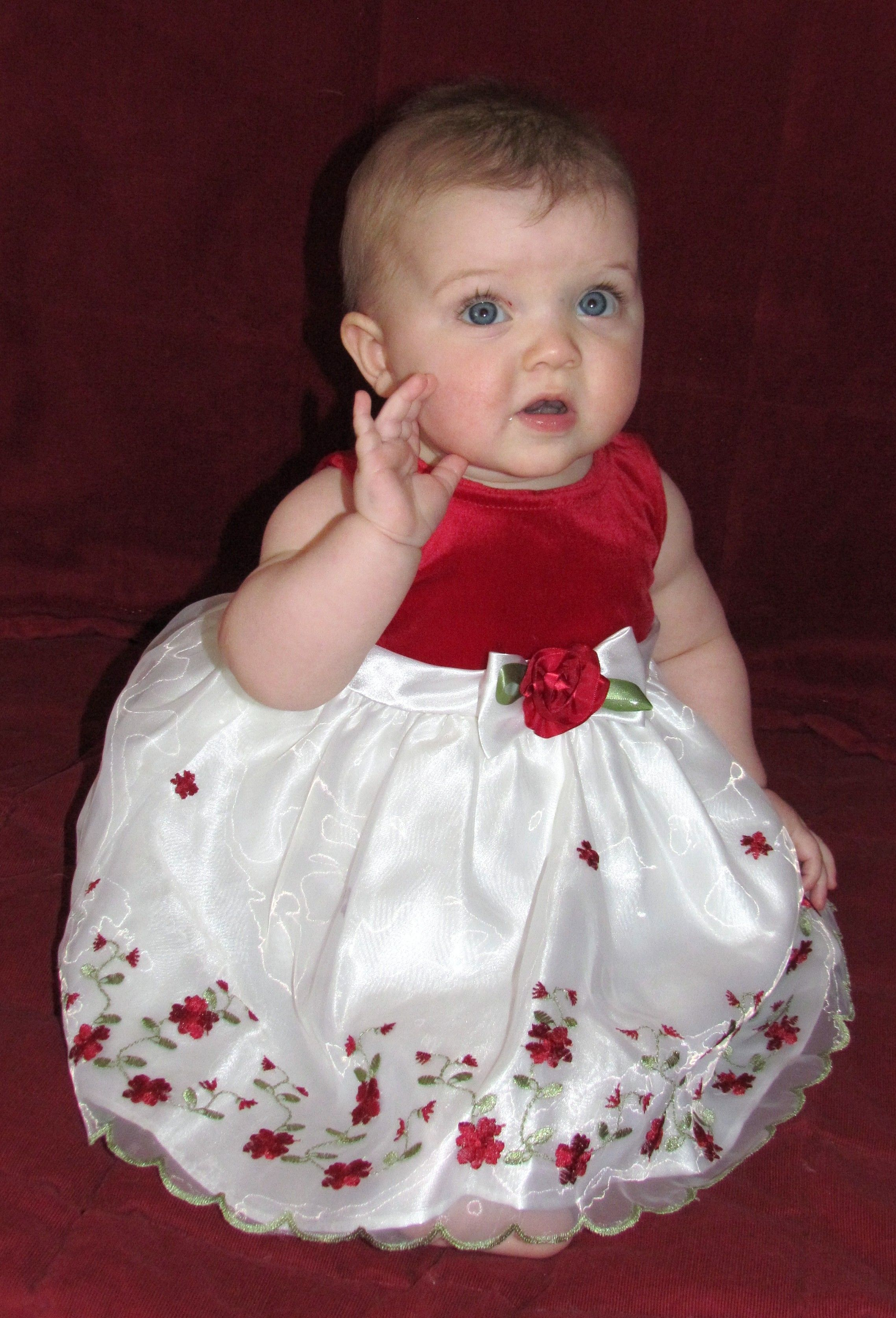 For Cute Baby Dresses For Christmas