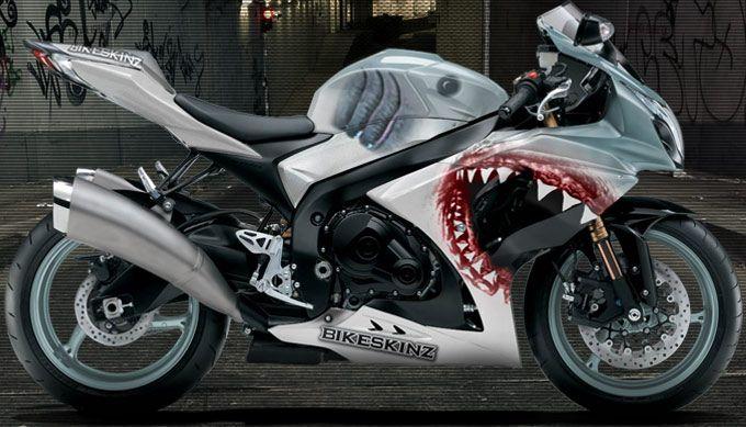 Bikeskinz Motorcycle Wrap Jawz Racing Motorcycles