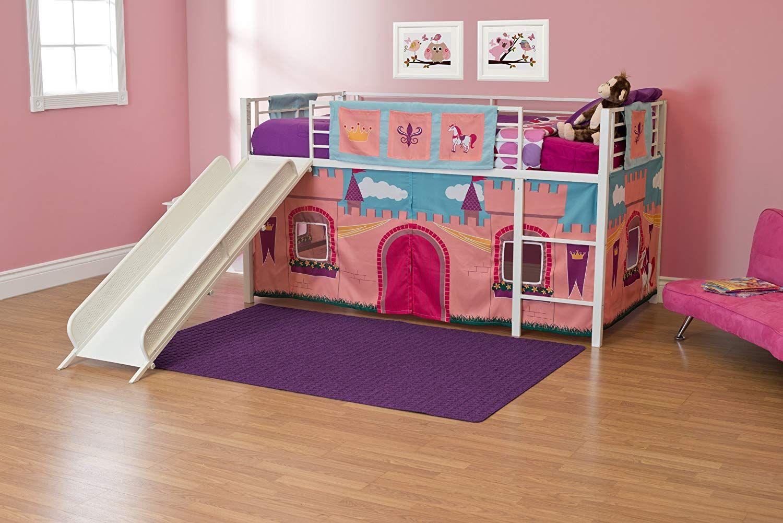 Hochbett Vorhang Set Mädchen : Mädchen vorhang set für hochbett bett