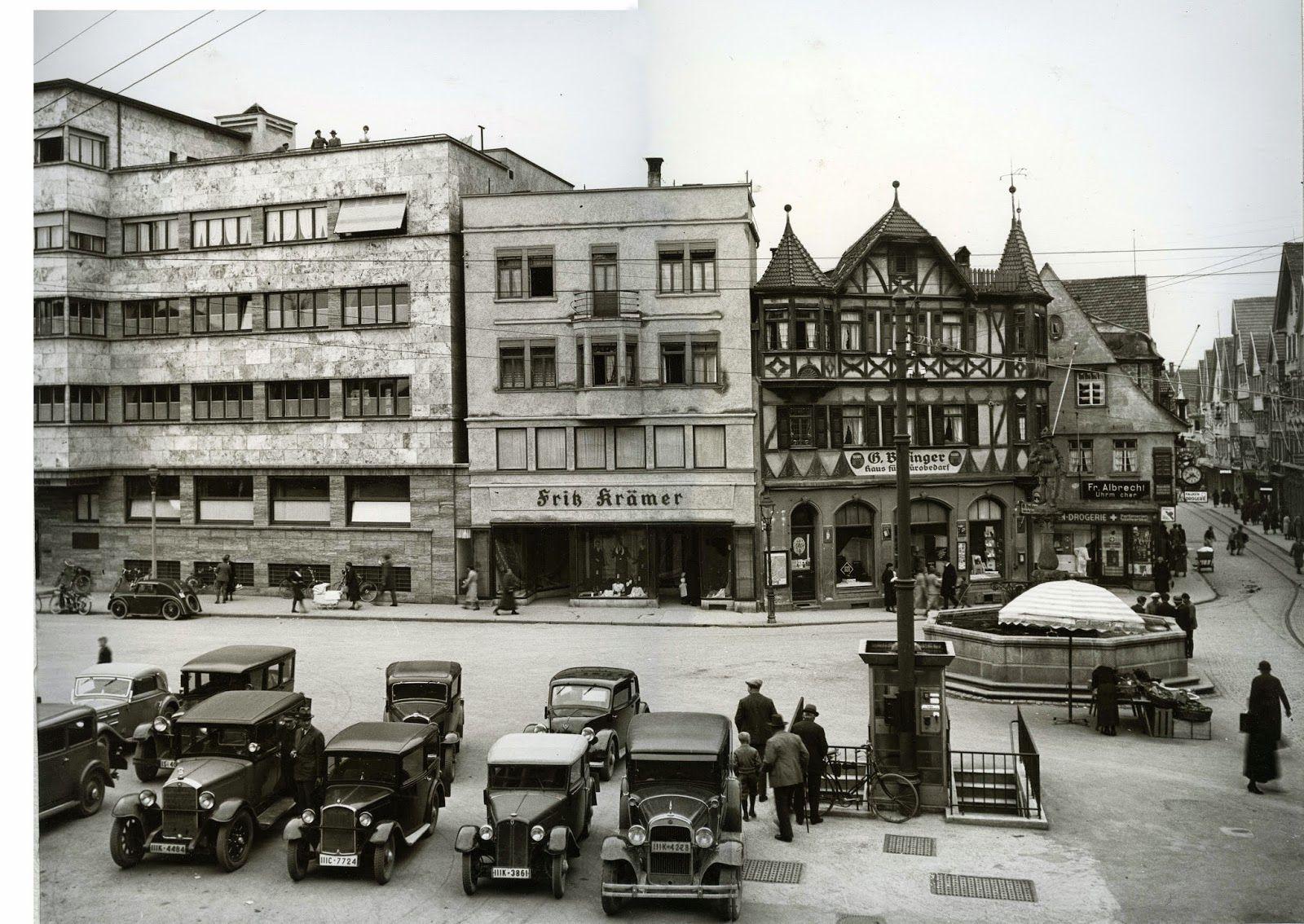 Vor 80 Jahren Parken Auf Dem Marktplatz Mit Bildern Marktplatz Bilder 80er Jahre