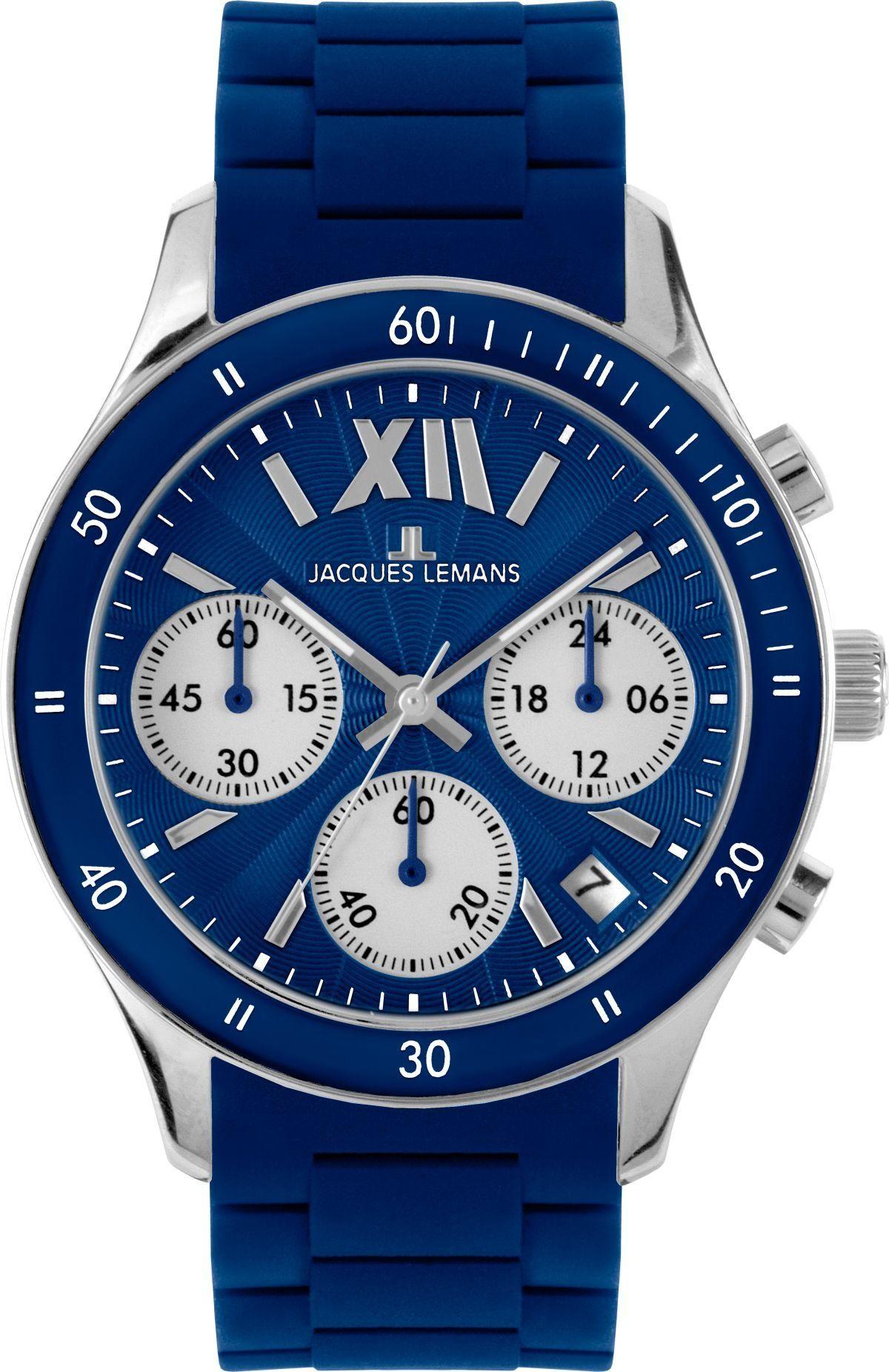 JACQUES LEMANS Rome Sports 11586C Reloj unisex de