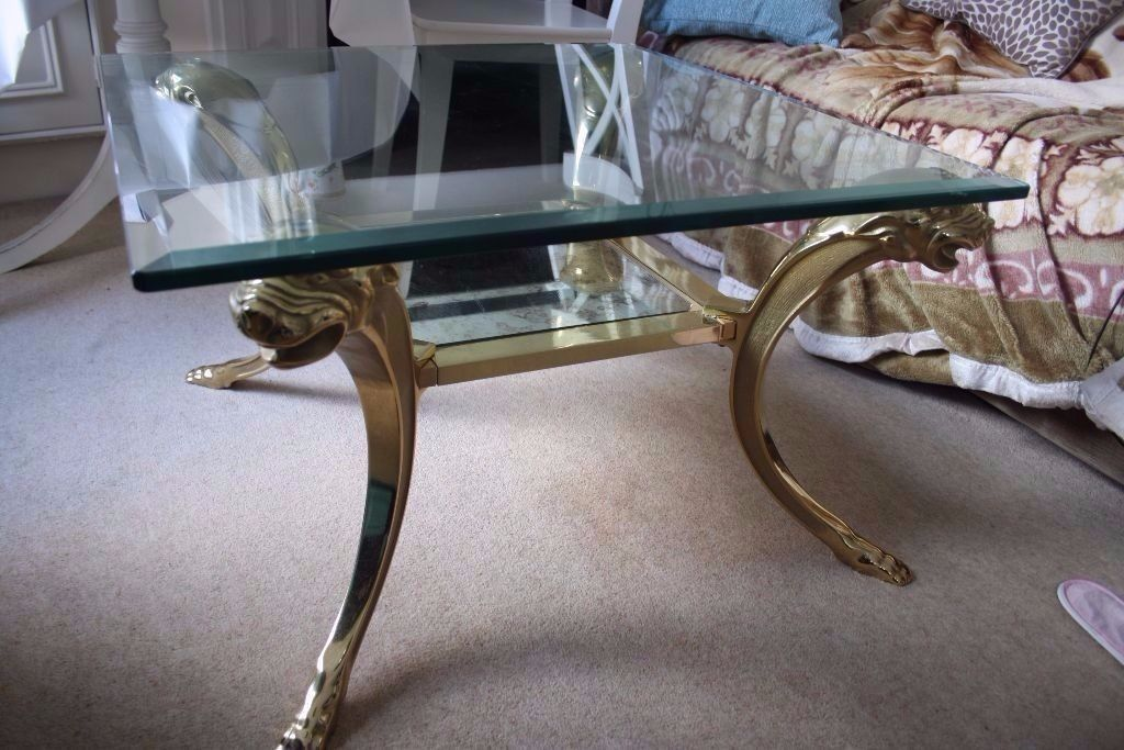 Beautifully made coffee table is for sale. The surface is