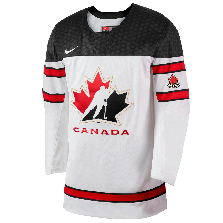 Team Canada Nike 2018 IIHF World Championship Adult Replica Hockey Jersey