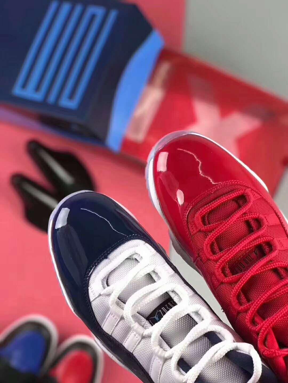 sports shoes 0f062 bbf6d Air Jordan 11 Retro Win Like 96 Gym Red 378037-623   Air Jordan 11 Win Like  82 Midnight Navy 378037-123