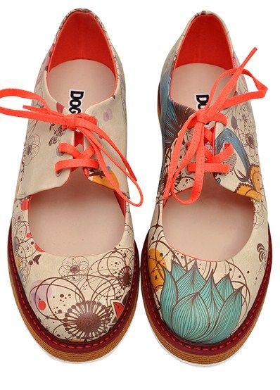 Zapatos azules Doggo para mujer Di8XMcQr