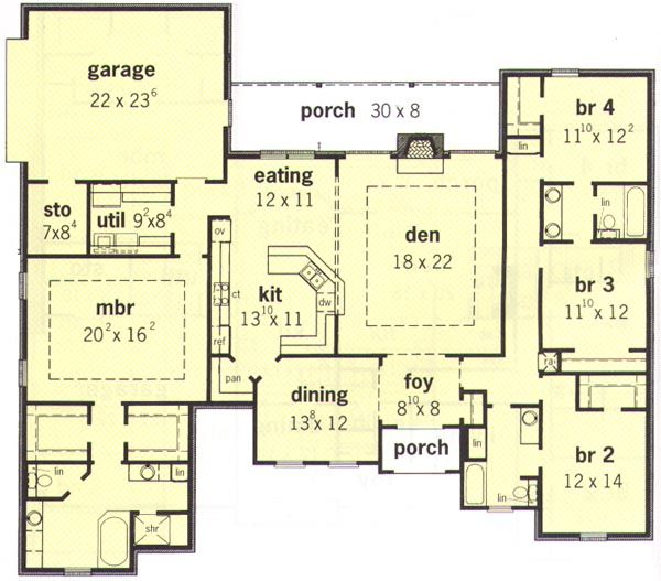 House plan chp 4992 at for the home for Coolhouseplans com