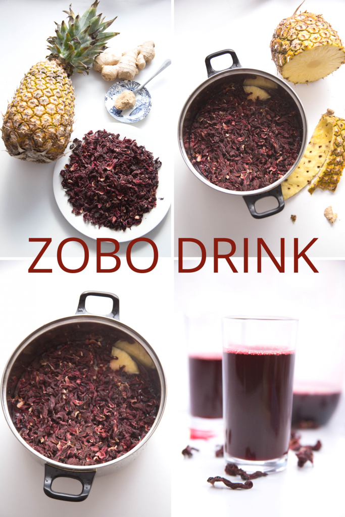 Zobo Hibiscus Sabdariffa Sobolo Bissap Drink Recipe Hibiscus Drink Food Natural Drinks